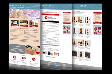 Wine-select-website